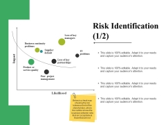 Risk Identification Template 1 Ppt PowerPoint Presentation Pictures File Formats
