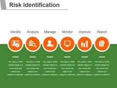 Risk Identification Template 1 Ppt PowerPoint Presentation Styles