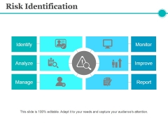 Risk Identification Template 2 Ppt PowerPoint Presentation Gallery Influencers