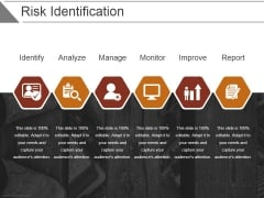 Risk Identification Template 2 Ppt PowerPoint Presentation Show