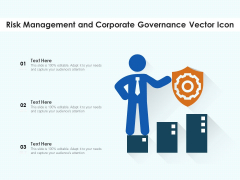 Risk Management And Corporate Governance Vector Icon Ppt PowerPoint Presentation File Templates PDF