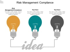 Risk Management Compliance Ppt PowerPoint Presentation Summary Design Inspiration Cpb