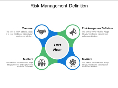 Risk Management Definition Ppt PowerPoint Presentation Icon Slides Cpb