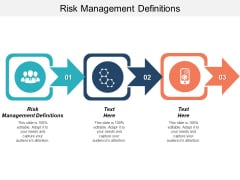 Risk Management Definitions Ppt PowerPoint Presentation Styles Inspiration