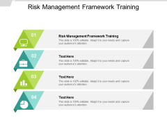 Risk Management Framework Training Ppt PowerPoint Presentation Layouts Display Cpb