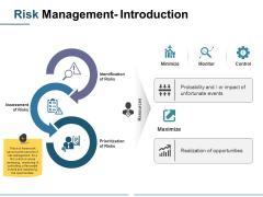 Risk Management Introduction Ppt PowerPoint Presentation Infographics Design Inspiration