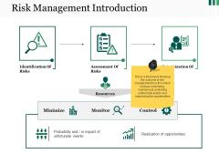 Risk Management Introduction Ppt PowerPoint Presentation Show Model