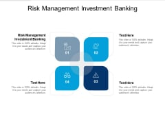 Risk Management Investment Banking Ppt PowerPoint Presentation Sample Cpb