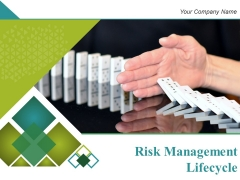 Risk Management Lifecycle Ppt PowerPoint Presentation Complete Deck With Slides