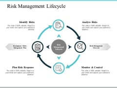Risk Management Lifecycle Ppt PowerPoint Presentation Outline Background Image