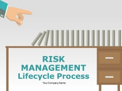 Risk Management Lifecycle Process Ppt PowerPoint Presentation Complete Deck With Slides