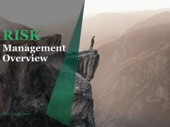 Risk Management Overview Ppt PowerPoint Presentation Complete Deck With Slides