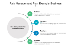 Risk Management Plan Example Business Ppt PowerPoint Presentation Outline Samples Cpb