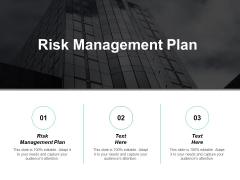 Risk Management Plan Ppt PowerPoint Presentation Infographics Sample Cpb