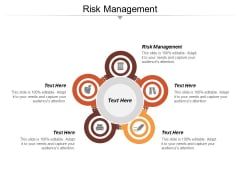 Risk Management Ppt PowerPoint Presentation Infographic Template Structure Cpb