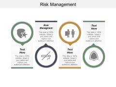 Risk Management Ppt PowerPoint Presentation Layouts Portfolio Cpb