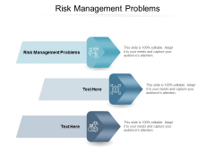 Risk Management Problems Ppt PowerPoint Presentation Model Graphics Cpb
