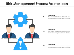 Risk Management Process Vector Icon Ppt PowerPoint Presentation File Designs Download PDF