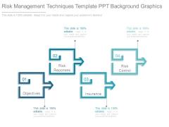 Risk Management Techniques Template Ppt Background Graphics