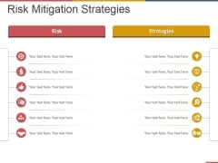 Risk Mitigation Strategies Ppt PowerPoint Presentation Outline Graphics Design