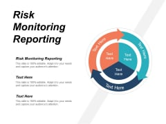 Risk Monitoring Reporting Ppt PowerPoint Presentation Gallery Good Cpb