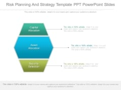Risk Planning And Strategy Template Ppt Powerpoint Slides