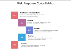 Risk Response Control Matrix Ppt PowerPoint Presentation Summary Maker Cpb Pdf
