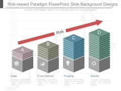 Risk Reward Paradigm Powerpoint Slide Background Designs