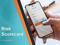 Risk Scorecard Ppt PowerPoint Presentation Infographics Sample