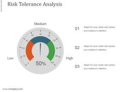 Risk Tolerance Analysis Template8 Ppt PowerPoint Presentation Designs Download