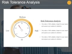 Risk Tolerance Analysis Template 1 Ppt PowerPoint Presentation Design Ideas