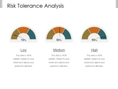 Risk Tolerance Analysis Template 1 Ppt PowerPoint Presentation Infographic Template