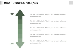 Risk Tolerance Analysis Template 1 Ppt PowerPoint Presentation Show Samples