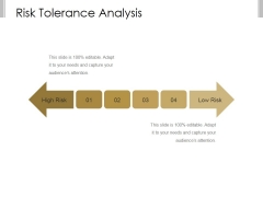Risk Tolerance Analysis Template 2 Ppt PowerPoint Presentation Clipart