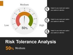 Risk Tolerance Analysis Template 2 Ppt PowerPoint Presentation Slides Diagrams