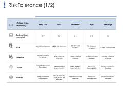 Risk Tolerance Template 1 Ppt PowerPoint Presentation Ideas Layouts