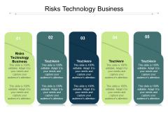 Risks Technology Business Ppt PowerPoint Presentation File Skills Cpb Pdf