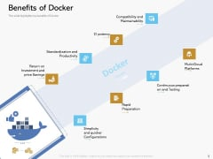Road Digital Transformation Through Containerization Benefits Of Docker Diagrams PDF