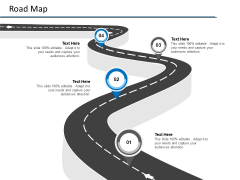 Road Map Four Stage Ppt PowerPoint Presentation Slides Templates