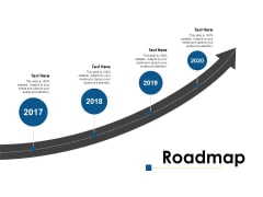 Roadmap 2017 To 2020 Ppt PowerPoint Presentation Icon Show