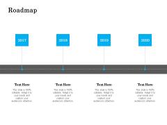 Roadmap 2017 To 2020 Ppt PowerPoint Presentation Slides Sample
