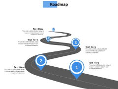 Roadmap Five Stage Ppt Powerpoint Presentation Layouts Slide