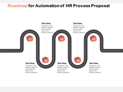 Roadmap For Automation Of HR Process Proposal Ppt PowerPoint Presentation Tips PDF