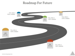 Roadmap For Future Ppt PowerPoint Presentation Model