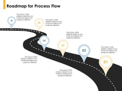 Roadmap For Process Flow Location Ppt PowerPoint Presentation Gallery Show
