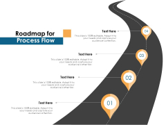 Roadmap For Process Flow Ppt PowerPoint Presentation File Layout