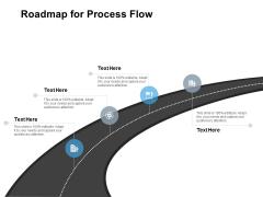 Roadmap For Process Flow Ppt PowerPoint Presentation Infographics Slide