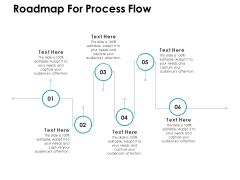 Roadmap For Process Flow Ppt PowerPoint Presentation Layouts Slide