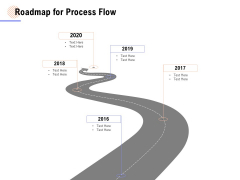 Roadmap For Process Flow Ppt PowerPoint Presentation Model Format Ideas
