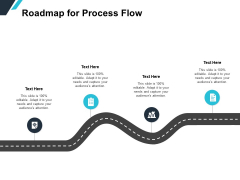 Roadmap For Process Flow Ppt PowerPoint Presentation Pictures Example File